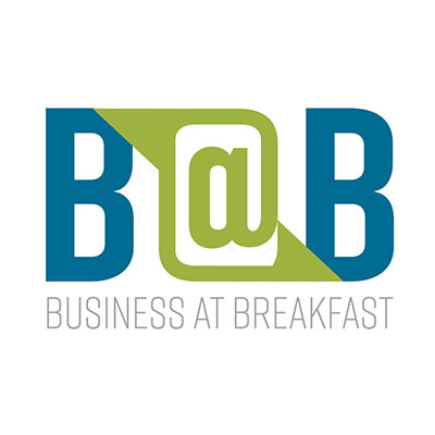 Business at breakfast logo
