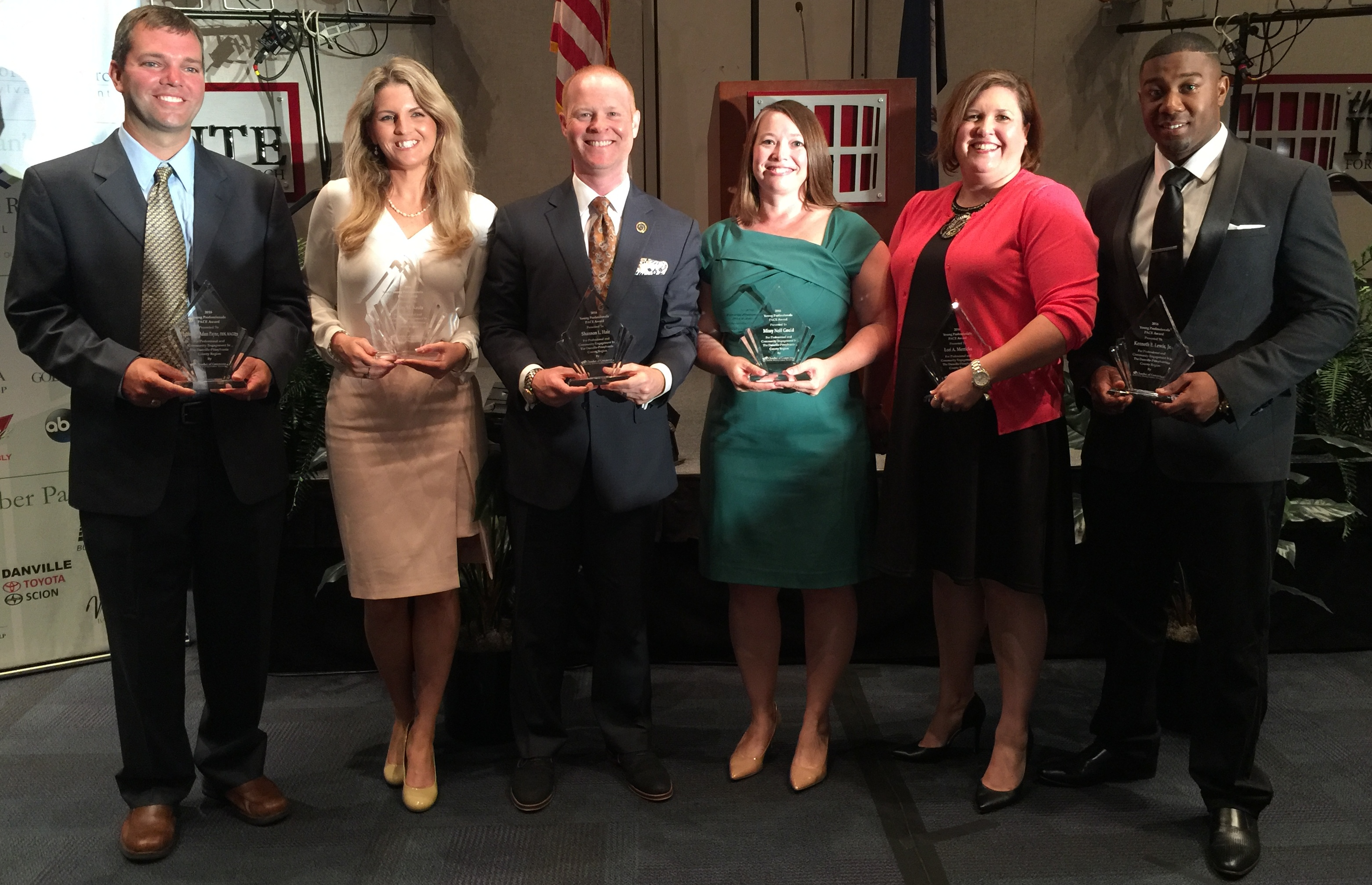 Young Professional award winners
